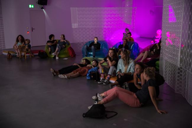 Pipilotti Rist: Show a Leg am 13.9.2018